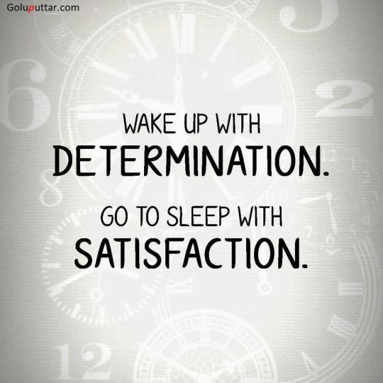 Lovely Wake Up Quote About Determination - Copy