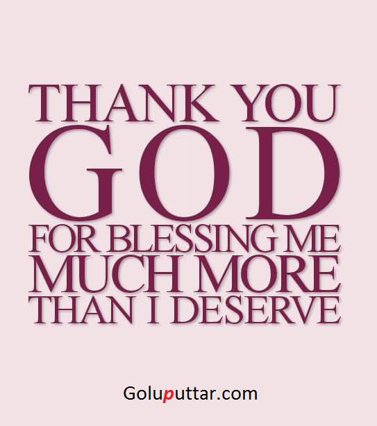 perfect thank you quote blessings of god always you goluputtar