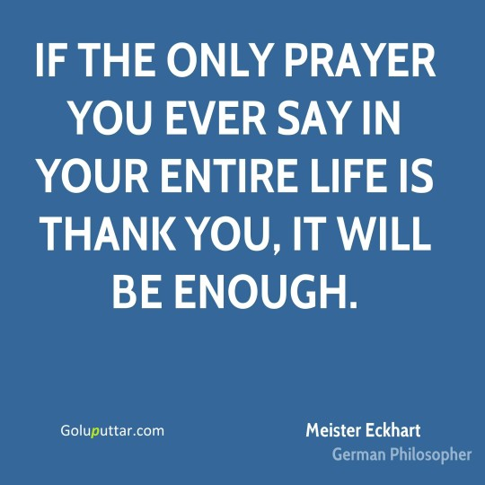 Popular Thank You Quote Daily Pray For Yourself - Copy
