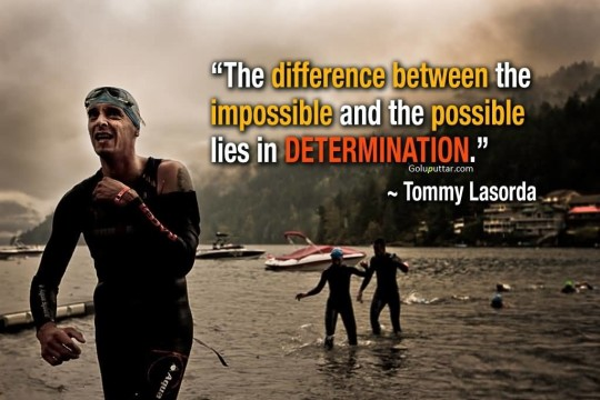 Unique Determination Quote Difference Between Possible And Impossible