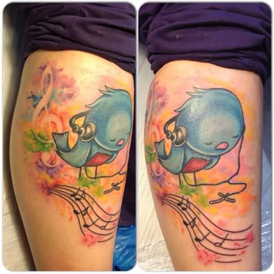 aqua bird tattoos and photo ideas page 4