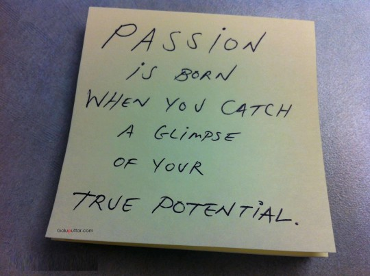 Famous Passion Quote About True Potential