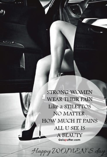 Famous Women's Day Quote About Strong Women