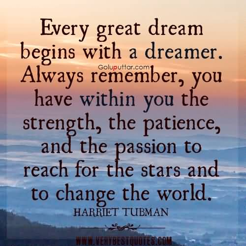 Mind Blowing Passion Quote You Have The Power To Change The World