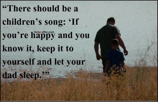Nice Father Day Quote About Children's Song