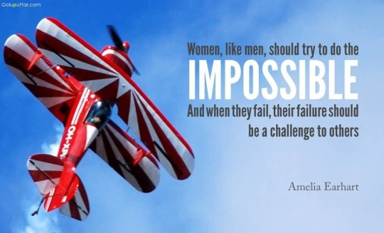 Superb Women Quote They Should Try To Do The Impossible