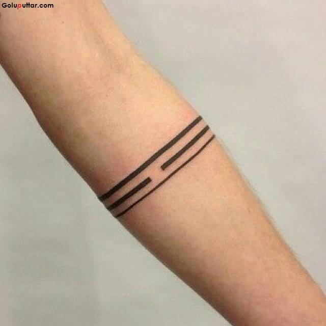 Beautiful arm decorated with line armband tattoo goluputtar beautiful arm decorated with line armband tattoo urmus