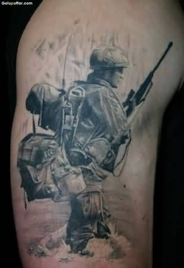 Army Sniper Tattoos Designs