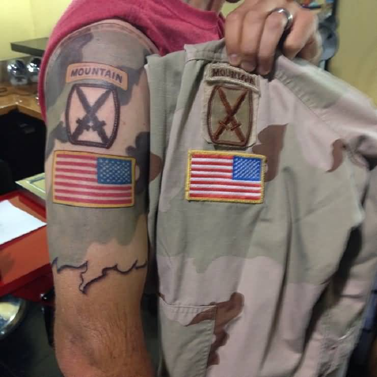 Army infantry tattoos and photo ideas page 4 for Army infantry tattoos