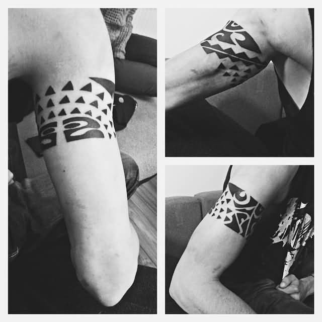 620101a4917c3 Upper Armband Tattoos | Armband Tattoo Ideas and Designs ...