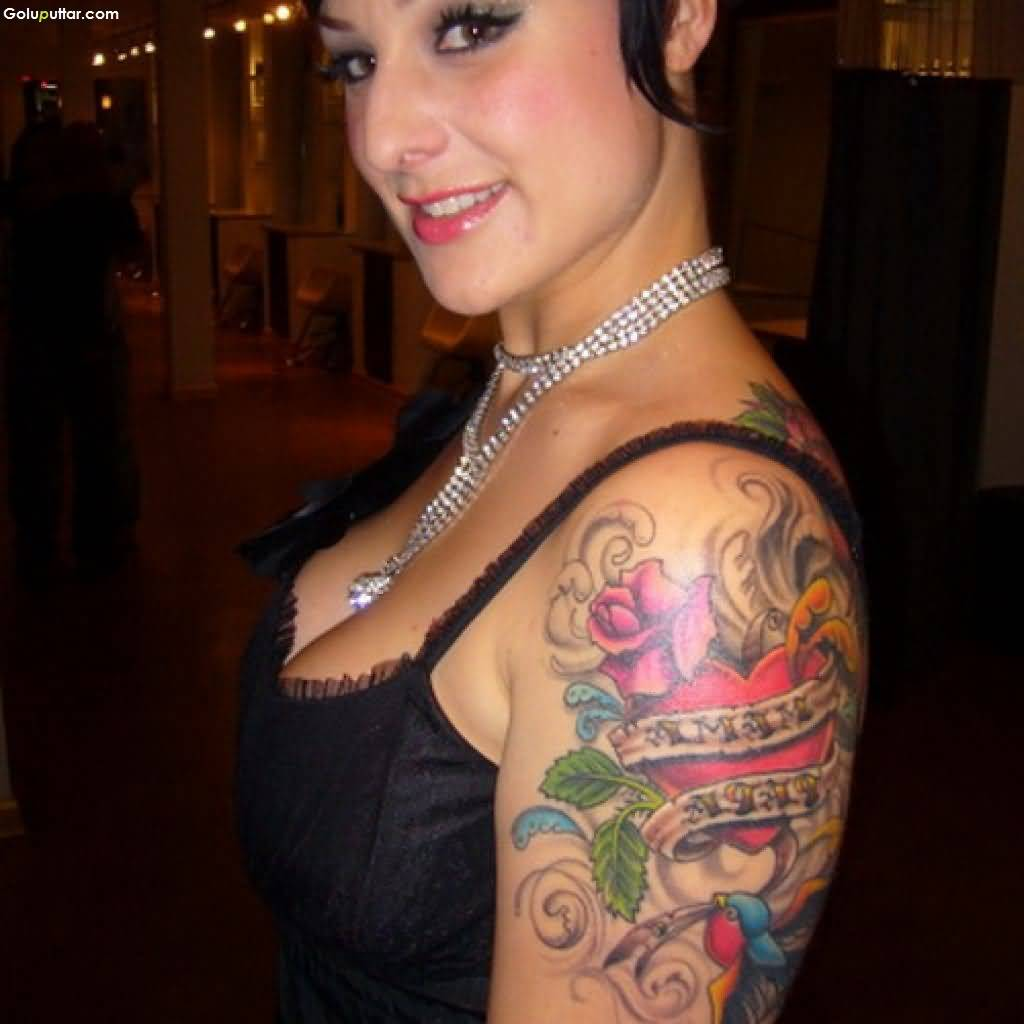 Arm Women Tattoos