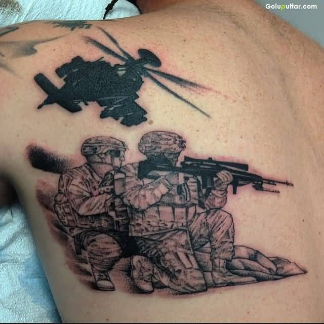 army sniper tattoos and photo ideas page 3. Black Bedroom Furniture Sets. Home Design Ideas