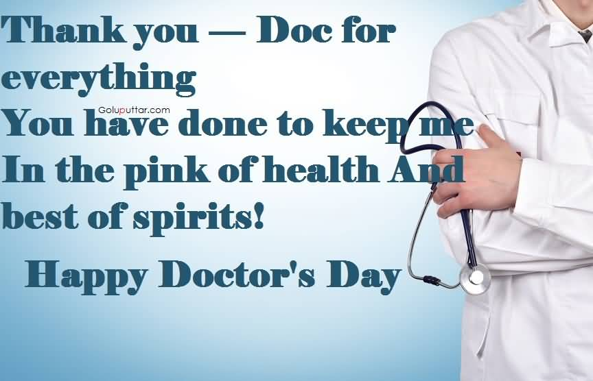 Birthday Quotes For Doctors: Mind Blowing Doctor's Day Quote Thank A Lot Doctor, Photos