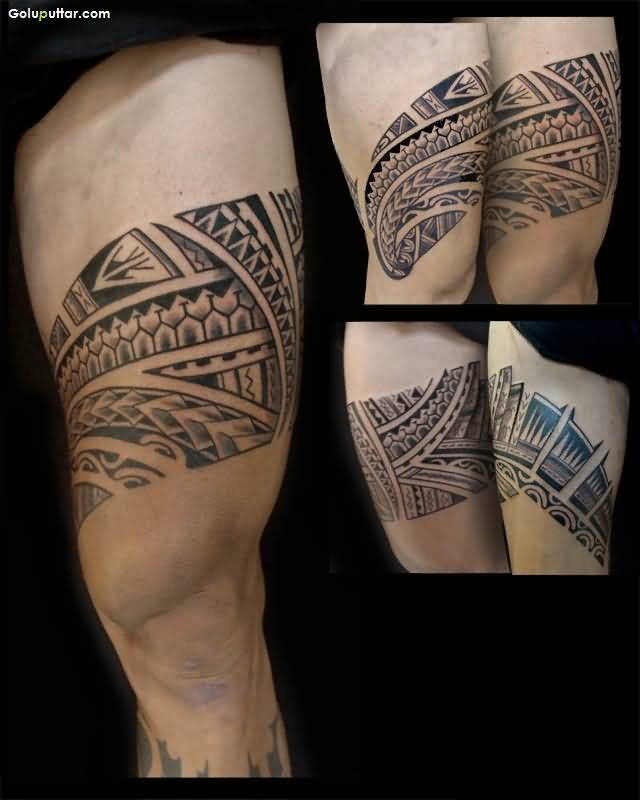 Stunning Polynesian Armband Men Tattoo Made By Expert