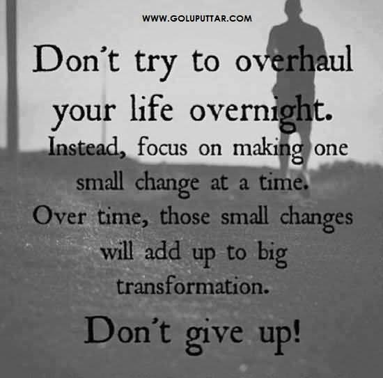 Superb Life Quote Never Give Up