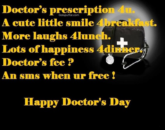 Trendy Doctor's Day Quote Happy Doctor's Day