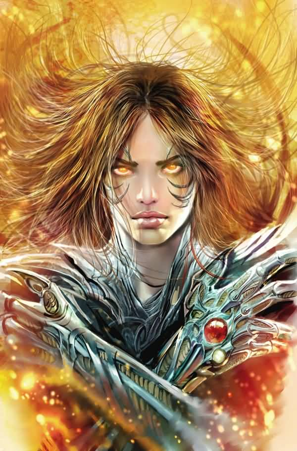 Awesome Witchblade Cover Design By Stjepan Sejic