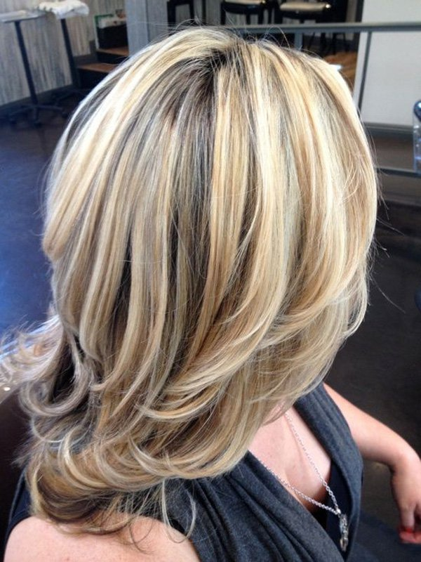 golden broen hair color styles - 001