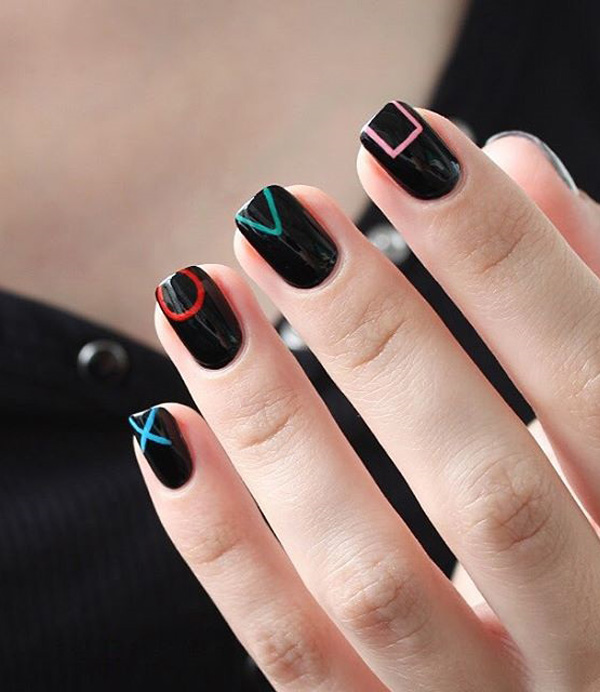 Easy And Cool Nail Art Designs Colors Photos And Ideas