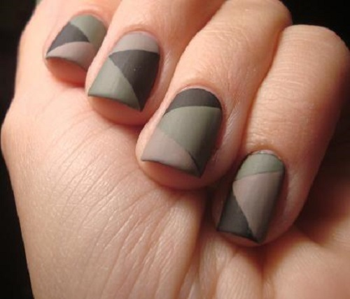 Brilliant Matte Grey Nail Art And Designs Photos And Ideas