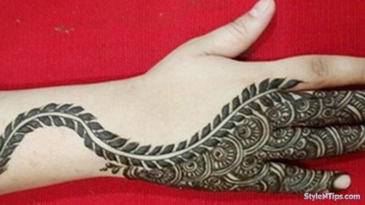 Mehndi Quotes For Him : Stylish bridal mehndi designs for full hands front and back