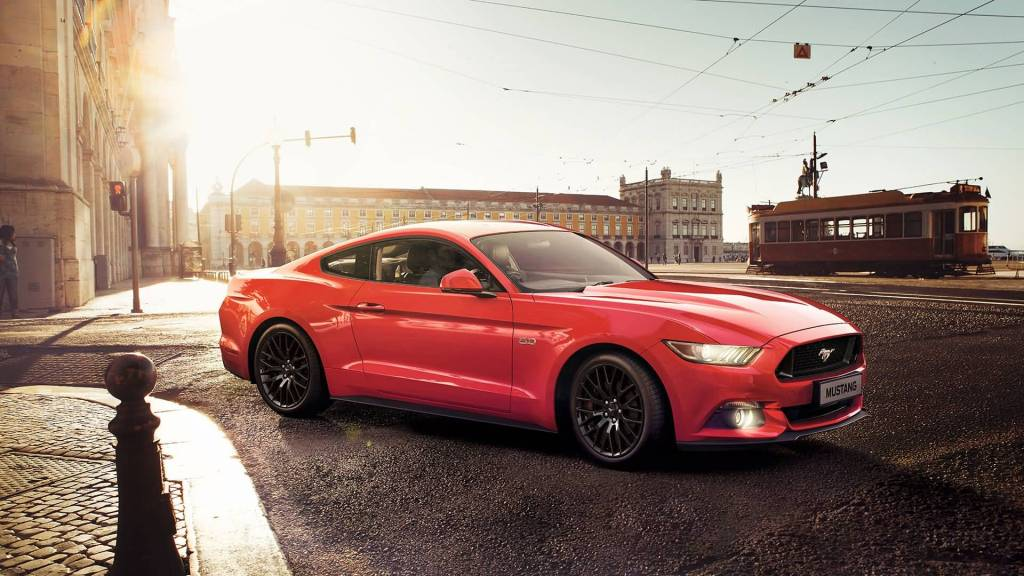 Full Red Ford Mustang Just Launched In India