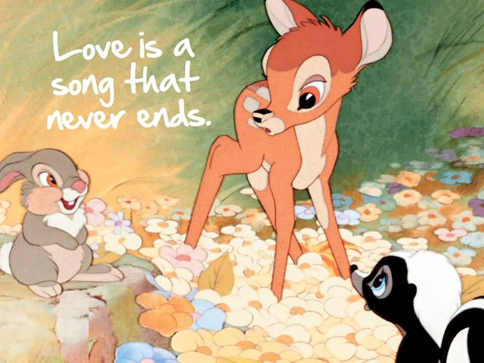Love Is Like An Endless Song