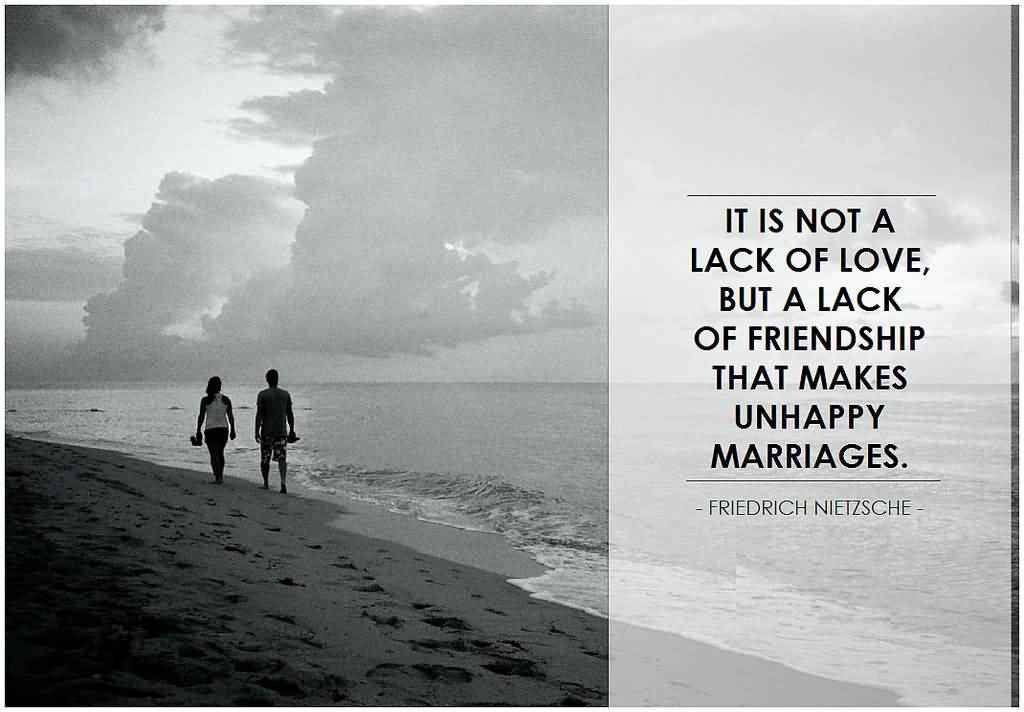 The Reason Behind Unhappy Marriages Is Lack Of Friendship