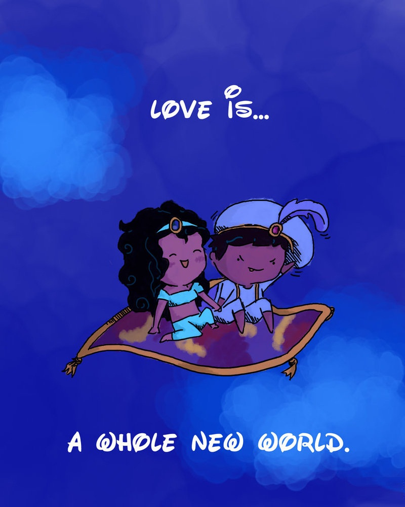 The Whole New World Is Love