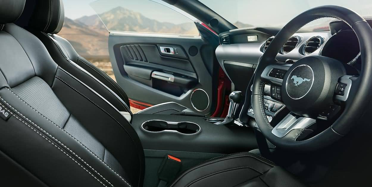 Wonderful Interior View Of Ford Mustang Gt
