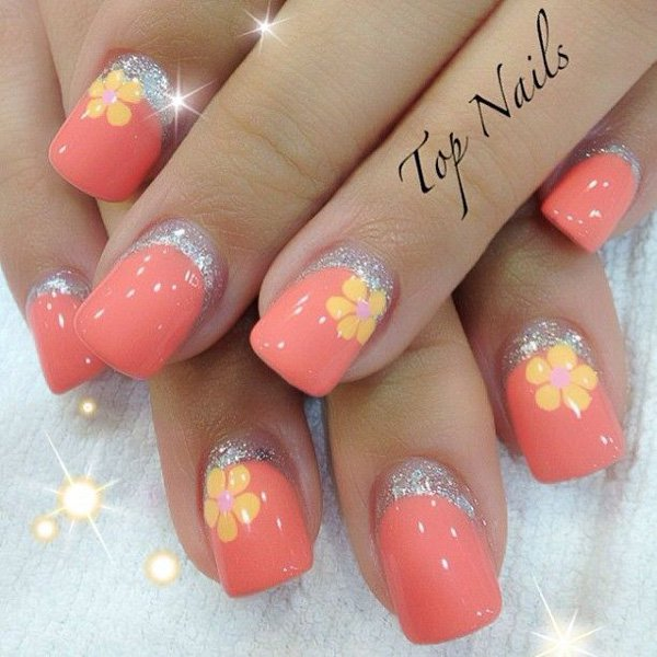 hot nail art ideas -767g687
