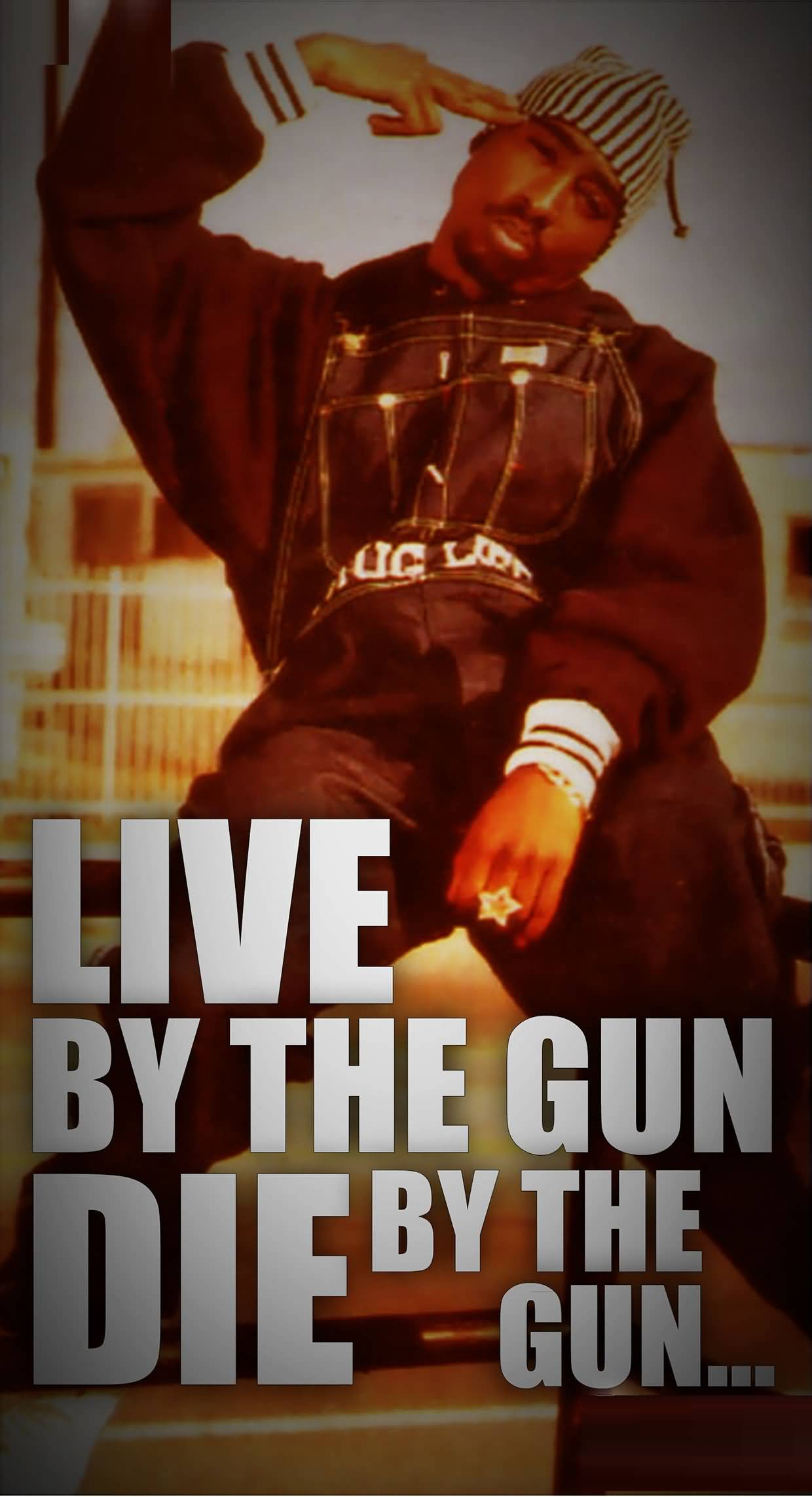Live by the gun die by the gun