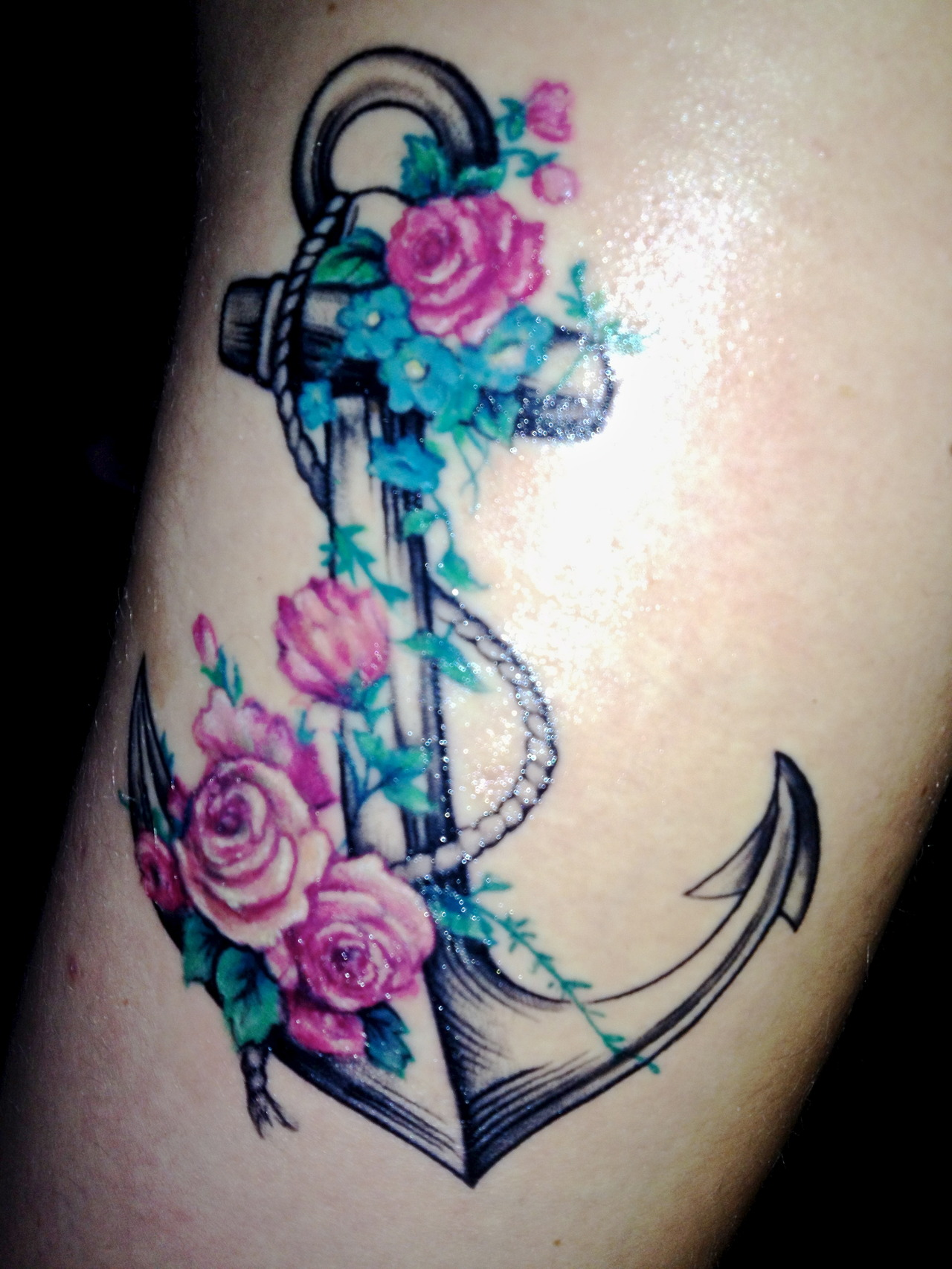 107anchor tattoo