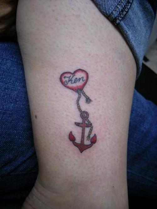 108anchor tattoo