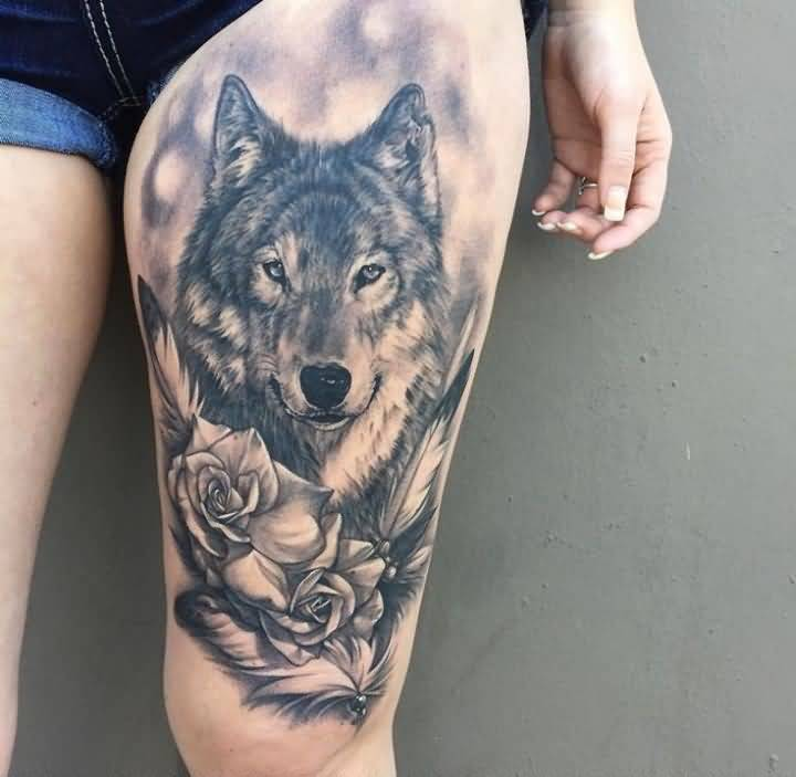 115leg tattoo idea