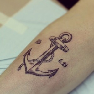125anchor tattoo