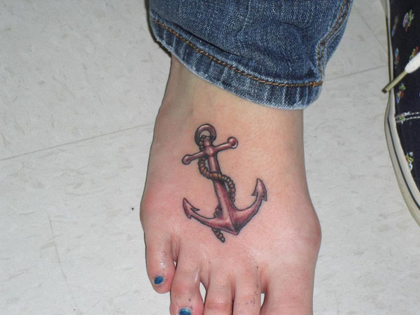129anchor tattoo