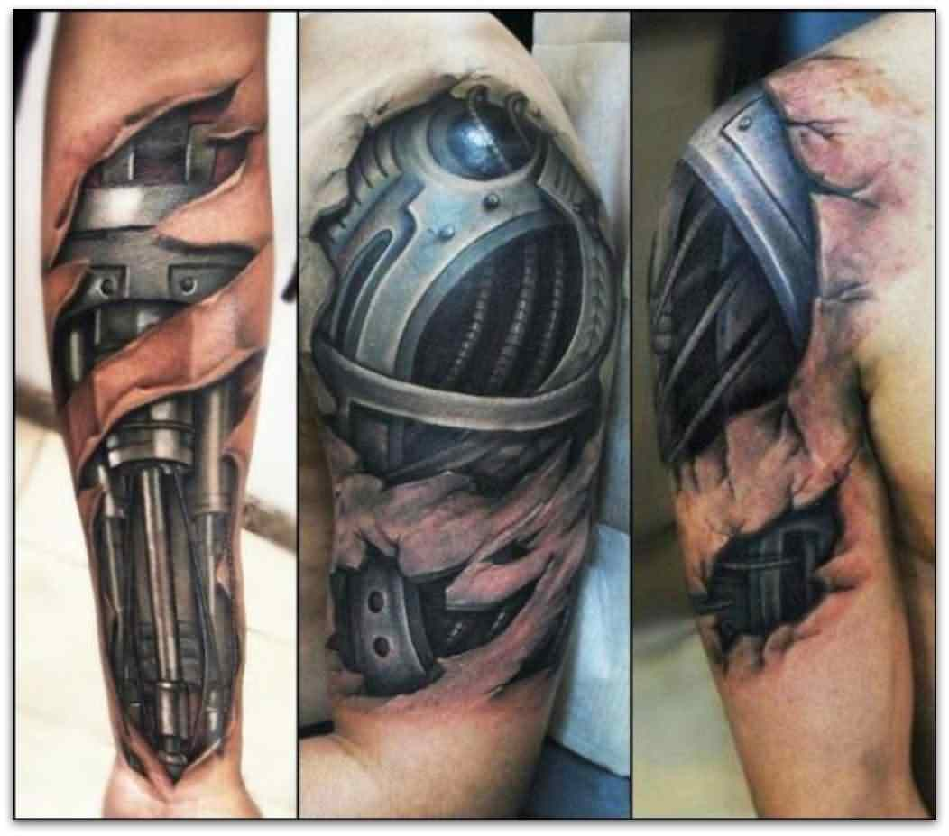 12biomechanical tattoo idea