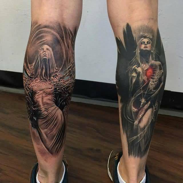 12leg tattoo idea