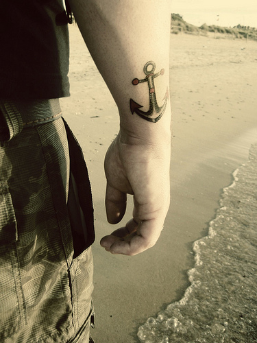 130anchor tattoo