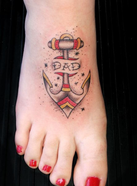 149anchor tattoo