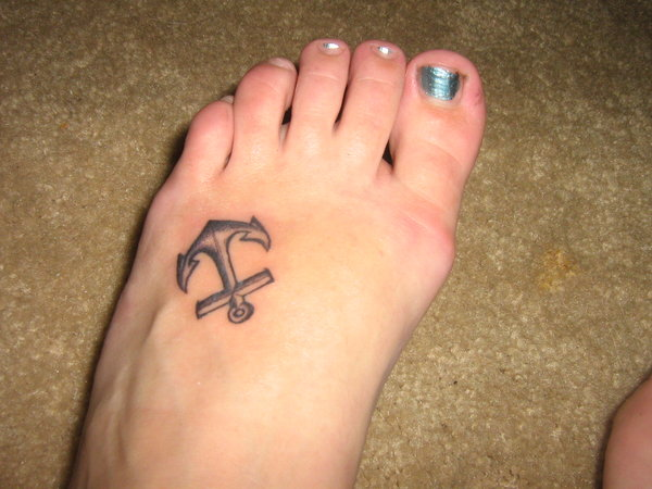 152anchor tattoo
