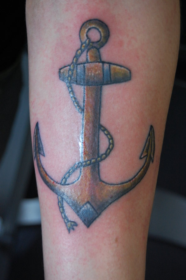 153anchor tattoo