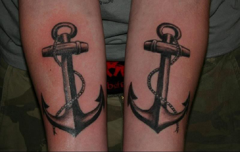 157anchor tattoo