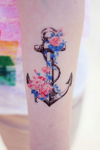 15anchor tattoo
