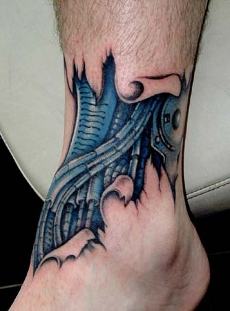 15biomechanical tattoo idea