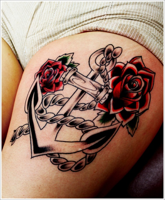 18anchor tattoo