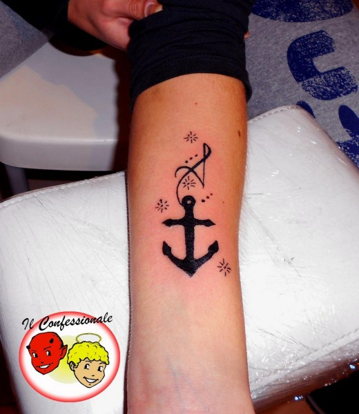 22anchor tattoo