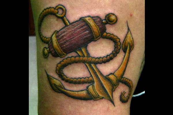 24anchor tattoo
