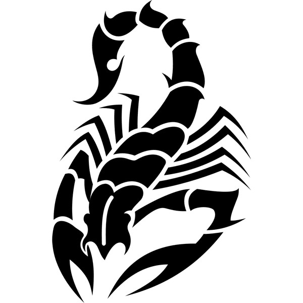27black scorpio tattoo idea